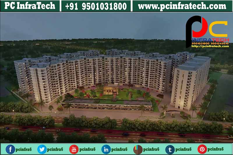rate of the address 3bhk flats